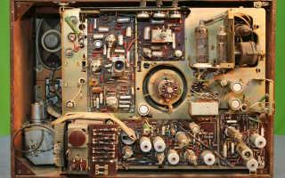 Особенности старых ламповых телевизоров