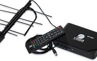 Подключение приставки цифрового телевидения к телевизору
