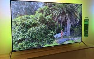Лучший тонкий телевизор в Мире