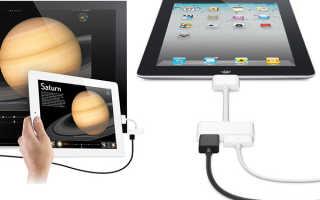 Подключение Ipad к телевизору для просмотра изображений и видео