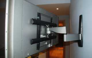 Как закрепить телевизор LG на стену