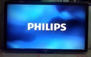 Что делать, если экран телевизора Филипс не показывает, а звук есть