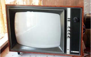 Первый цветной телевизор в СССР: как это было