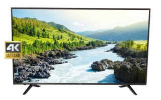 Обзор телевизоров Doffler: покупка и настройка
