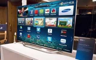 Пошаговая настройка телевизора Самсунг