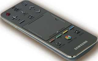 Как подключить и настроить сенсорный пульт для телевизора Samsung