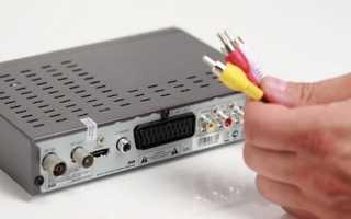 Подключение ТВ приставки к телевизору или монитору