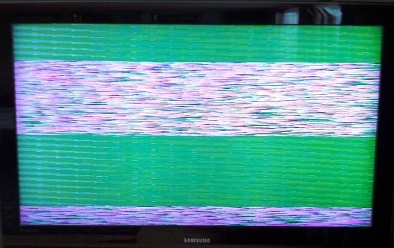Мигает телевизор