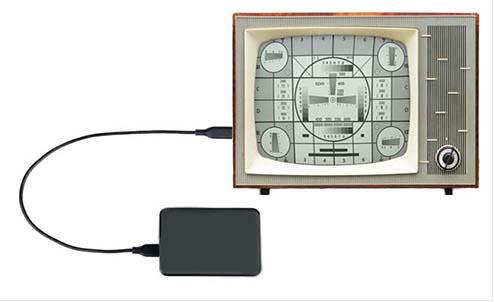 Диск и телевизор