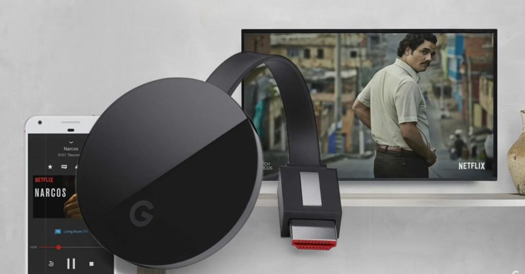 Google Chrome Cast Ultra