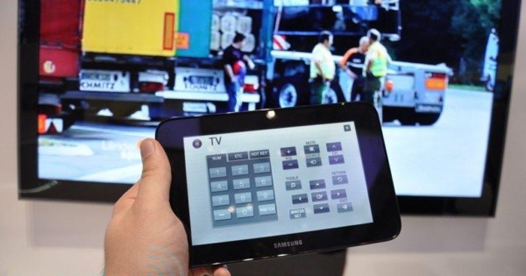 Как управлять телевизором с планшета