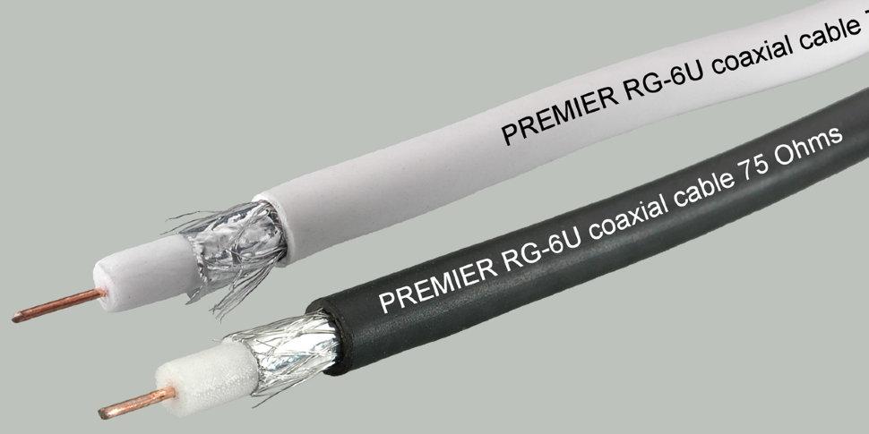 коаксиальный кабель RG-6