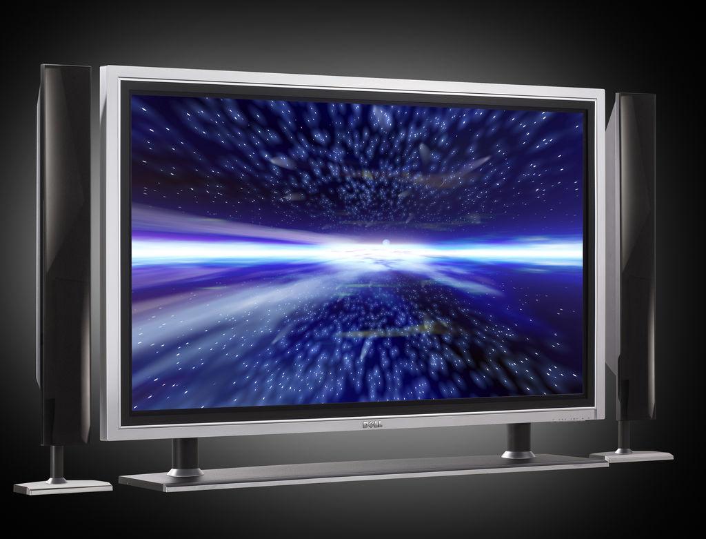 телевизор с хорошим качеством картинки всегда занимала
