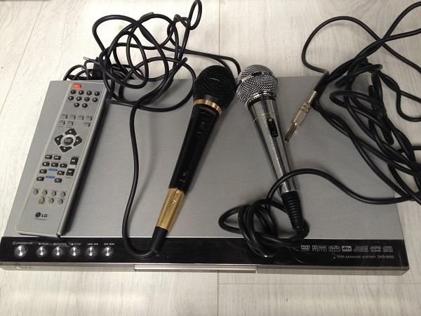 Караоке с микрофонами