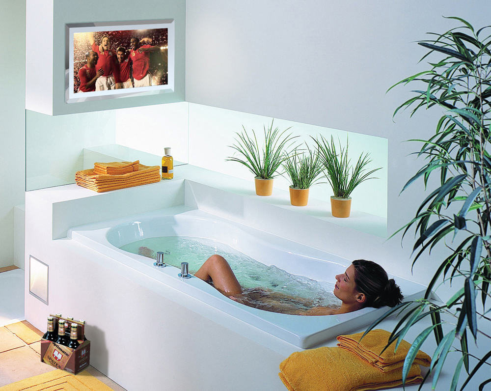 Телевизор в ванной